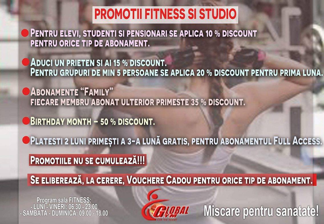 fitness fun promotii fitness si studio