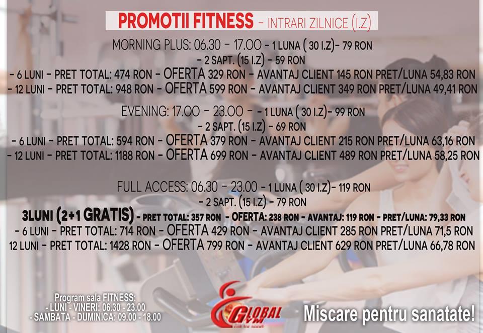 promotii fitness
